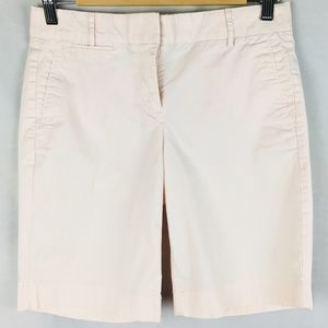Chino shorts light pink bermuda long stretchy 0